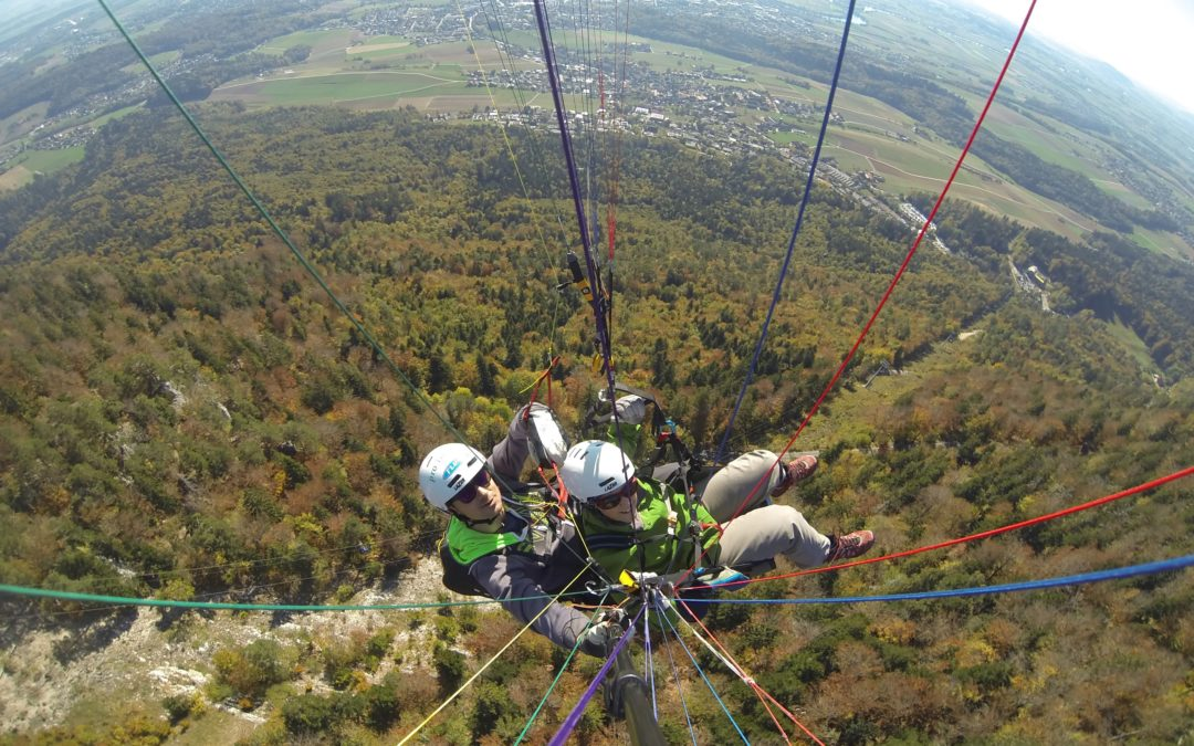 Herbstliche Tandemflüge am Weissenstein