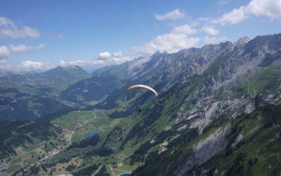 Thermikfliegen in den französischen Alpen rund um die Aravis Kette – Le Grand-Bornand 2018
